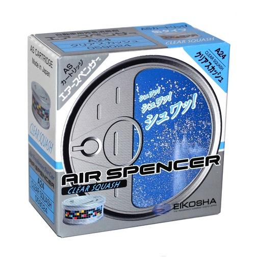 Ароматизатор Eikosha Air Spencer - Clear Squash - Чистая свежесть (A24)