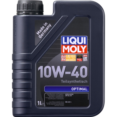 Моторное масло Liqui Moly Optimal 10W-40, 1л (3929)